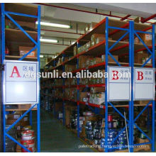 Customized high quality double deep metal storage heavy duty warehouse rack
